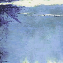 Flux LXXII.   100x184 cm., oil on canvas, 2015