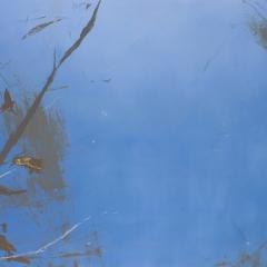 Flux LXXIV.   117x207 cm., oil on canvas, 2015