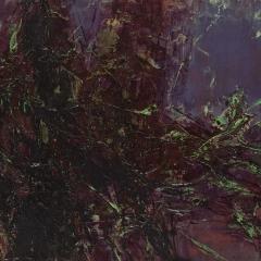 Flux LXXXIII.   49,5x69,5 cm., oil on wood, 2015